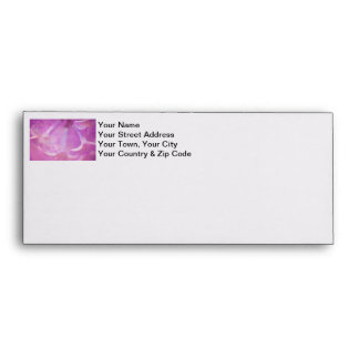 Lilacs Photo with Hearts Design Envelope