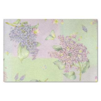 """Lilacs Print 10"""" X 15"""" Tissue Paper"""