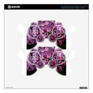 Lilacs PS3 Controller Skin