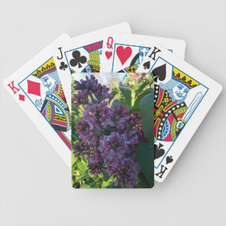 Lilacs- Spring is in the Air Bicycle Playing Cards