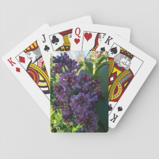 Lilacs- Spring is in the Air Playing Cards