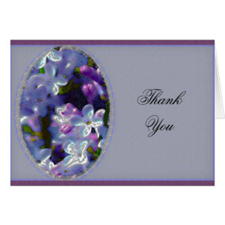 Lilacs Thank You Cards