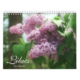 Lilas 2015 (12 meses) calendarios