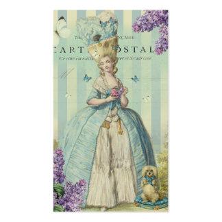 Lilas au printemps business card template