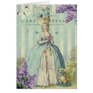 Lilas au printemps, Happy Birthday Card