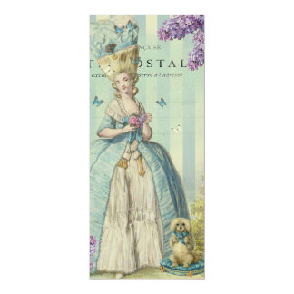 Lilas au printemps 4x9.25 paper invitation card