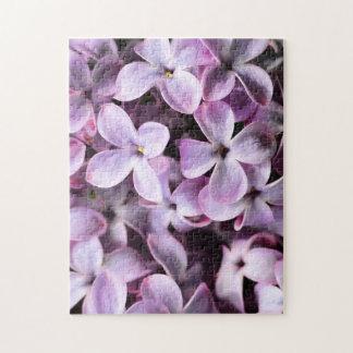 Lilas bonitas puzzle