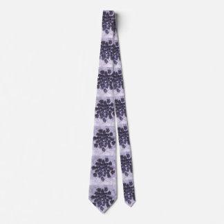 Lilas de color morado oscuro corbatas personalizadas
