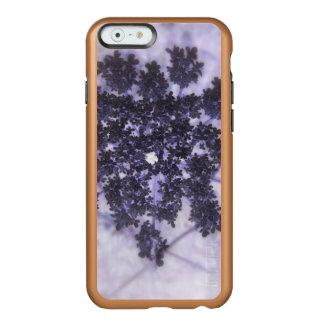 Lilas de color morado oscuro funda para iPhone 6 plus incipio feather shine