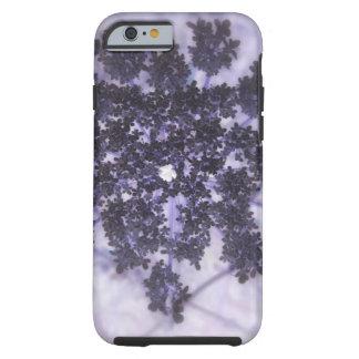 Lilas de color morado oscuro funda resistente iPhone 6
