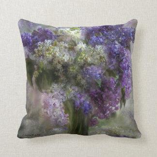 Lilas de la almohada del decorador del arte del am