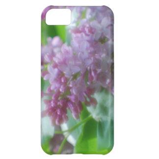 Lilas en colores pastel funda para iPhone 5C