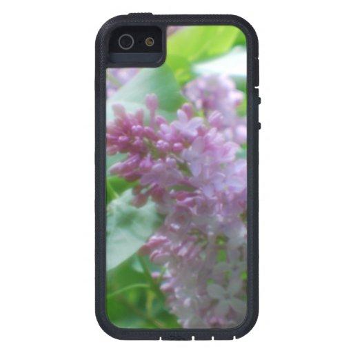 Lilas en colores pastel iPhone 5 Case-Mate funda