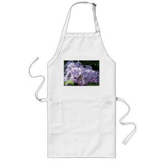 Lilas en la plena floración delantal