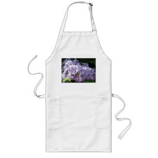 Lilas en la plena floración delantal largo