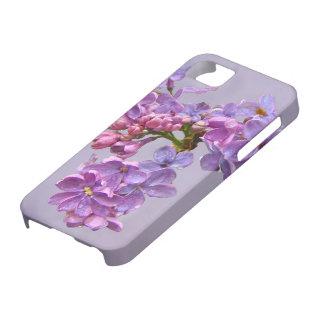 Lilas en primavera iPhone 5 fundas