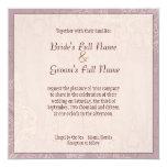 Lilas impresionistas - invitación del boda invitación 13,3 cm x 13,3cm