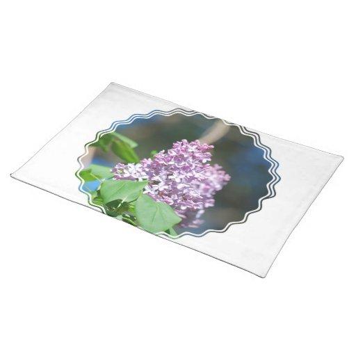 Lilas Placemat de la lavanda Manteles