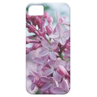 Lilas púrpuras bonitas funda para iPhone 5 barely there