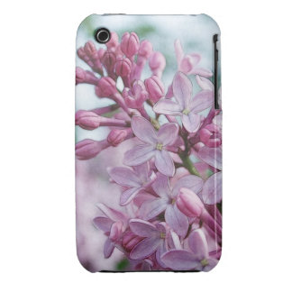 Lilas púrpuras bonitas iPhone 3 Case-Mate coberturas