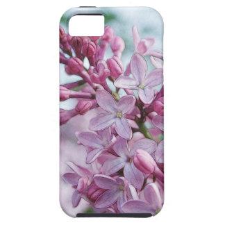 Lilas púrpuras bonitas iPhone 5 carcasa