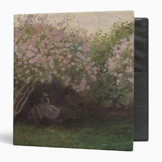 """Lilas, tiempo gris, 1872 carpeta 1 1/2"""""""
