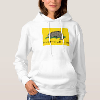 Lilbertarian - Don't Tread on Me Flag - -  Hoodie