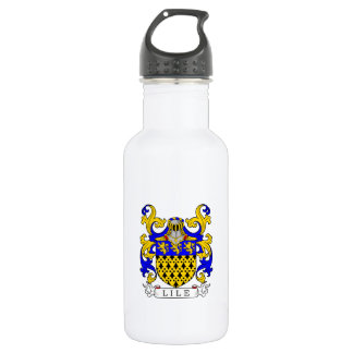Lile Coat of Arms Stainless Steel Water Bottle
