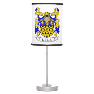 Lile Coat of Arms Table Lamp