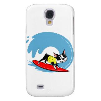 Lili Chin que practica surf la caja de la galaxia  Funda Para Galaxy S4
