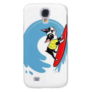 Lili Chin que practica surf la colección de Boston Funda Para Galaxy S4