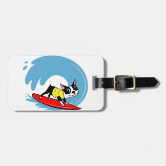 Lili Chin Surfing Boston Collection Bag Tags