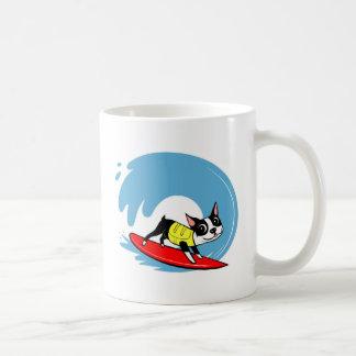 Lili Chin Surfing Boston Collection Coffee Mug
