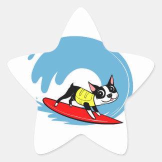 Lili Chin Surfing Boston Collection Star Sticker