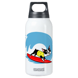 Lili Chin Surfing Boston Collection Thermos Water Bottle
