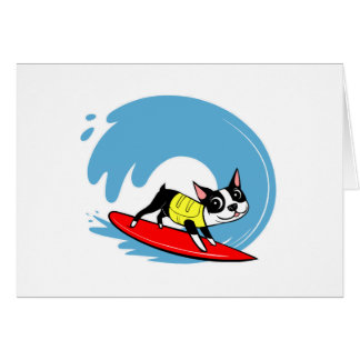 Lili Chin Surfing Boston Note Cards