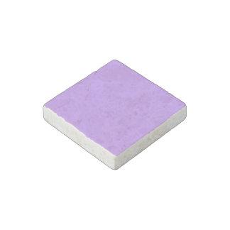Liliac color stone magnet