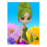"""Liliana"" Garden Fairy Postcard"