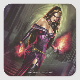 Liliana of the Veil Square Sticker