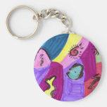 Lilianna Archuleta Basic Round Button Keychain
