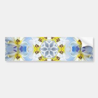 Lilie weiß - Lily White Bumper Sticker