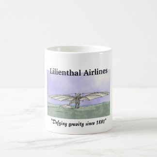 Lilienthal Airlines Classic White Coffee Mug