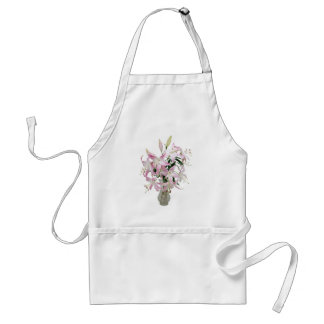 Lilies051409 Adult Apron