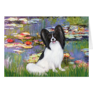 Lilies 1 - Papillon 1 Greeting Card