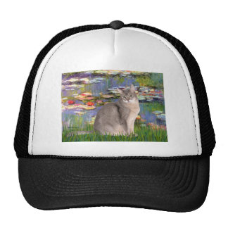 Lilies 2 - Abyssinian (blue 21) Mesh Hats
