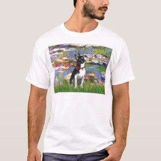 Lilies #2 - Boston Terrier 2 T-Shirt