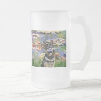 Lilies 2 - German Shepherd 10 Mugs