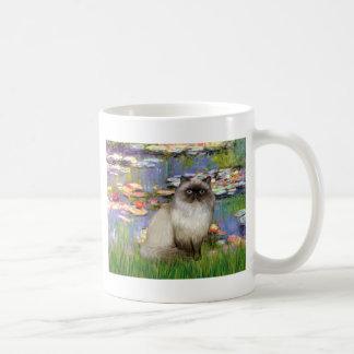 Lilies 2 - Himalayan cat 7 Mug