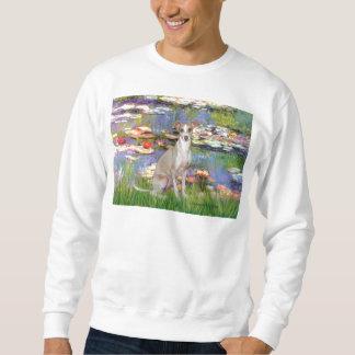 Lilies 2 - Italian Greyhound 5 Sweatshirt