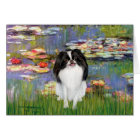 Lilies 2 - Japanese Chin 3 Card